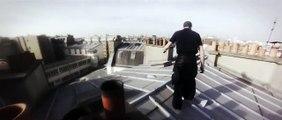 Parkour extrême sur les toits de Paris