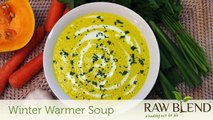 How to Make Hot Soup (Winter Warmer Recipe) in a Vitamix 5200 Blender by Raw Blend
