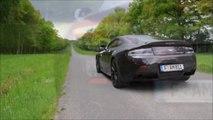 Aston Martin V12 Vantage S test drive