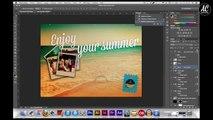 [Illustrator-Photoshop] Realisation d'une carte postale !
