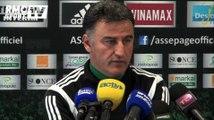 """""""Je ne suis ni en négociations avec Saint-Etienne, ni avec d'autres clubs"""" Christophe Galtier"""
