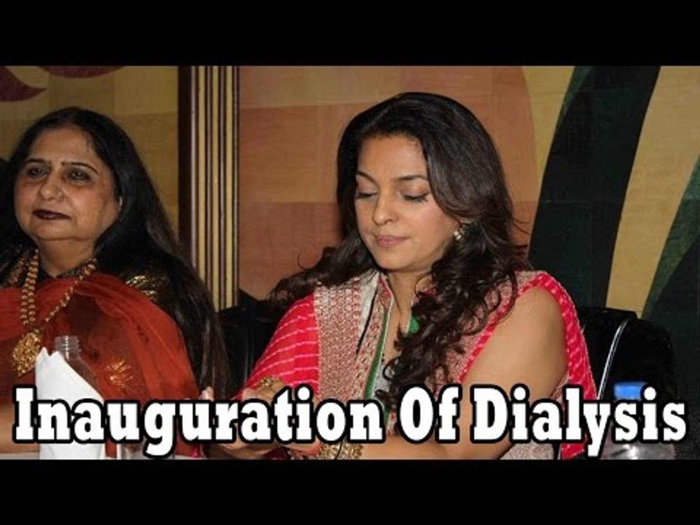 Juhi Chawla @ The Inauguration Of Dialysis Centre In Dalvi Hospital
