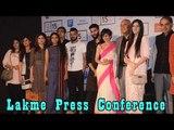 Press Conference  Lakme Fashion Week