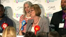 Harriet Harman keeps her seat