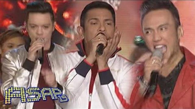 Arnel, Bamboo, Gary V sing 'Joy To The World' on ASAP