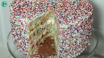 Howdini Cakes: How to Make a Funfetti Sprinkle Party Cake