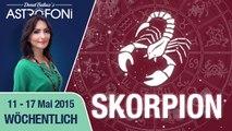 Monatliches Horoskop zum Sternzeichen Skorpion (11-17 Mai 2015)