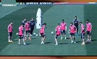 Jese Nutmeg Fantastic to Chicharito Hernandez Humiliates Real Madrid Training