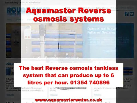 Aquamaster Reverse osmosis systems