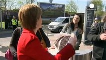 Schottlands Königin fährt Erdrutschsieg ein