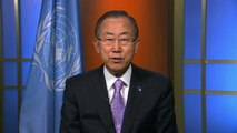 United Nations Secretary-General Ban Ki-moon on the value of postal services