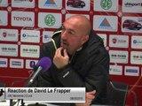 (J36) Valenciennes 2-2 Laval, réaction de D.Le Frapper