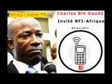 Charles Blé Goudé : Invité du Journal RFI-Afrique