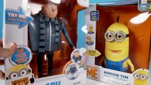 Minion Toys Gru The Talking Genius & Minion Tim The Singing Action Figure from Despicable Me 2