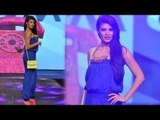 Jacqueline Fernandes Sexy Single String Jump Suit Add Glamour To Allure Fashion Show