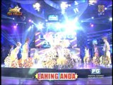 Lahing Anda forms human ABS-CBN logo