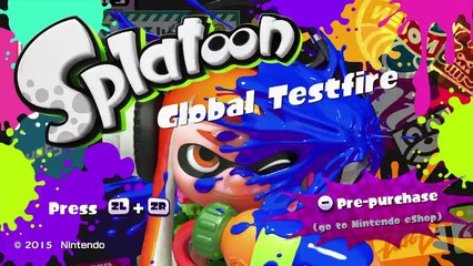 Splatoon Global Testfire 1st Hour Stream part 1