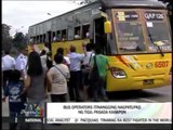 Bus operators deny Monday strike