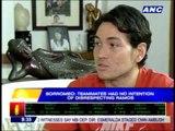 No harm intended towards Ramos: Borromeo