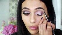 Matte Fall Makeup Tutorial-  Makeup Hair Style  & Tips