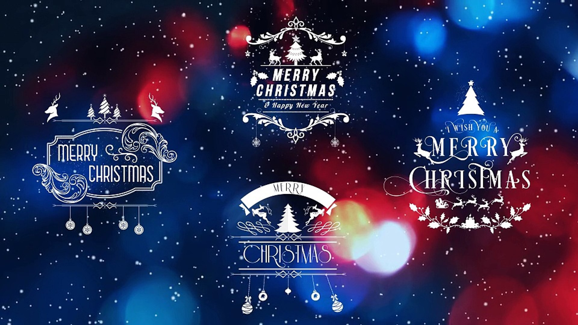After Effects Project Files - 100 Christmas Elements package - VideoHive 9767501