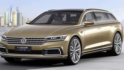Volkswagen Phaeton Estate Rendered