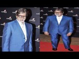 Amitabh Bachhan in Hot Blue Suit Spotted At Red Carpet Of Celebration Colors Bash!