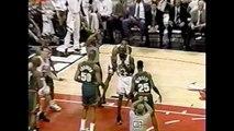 Gary Payton Defense on Pippen + Jordan - 1996 Finals Game 1