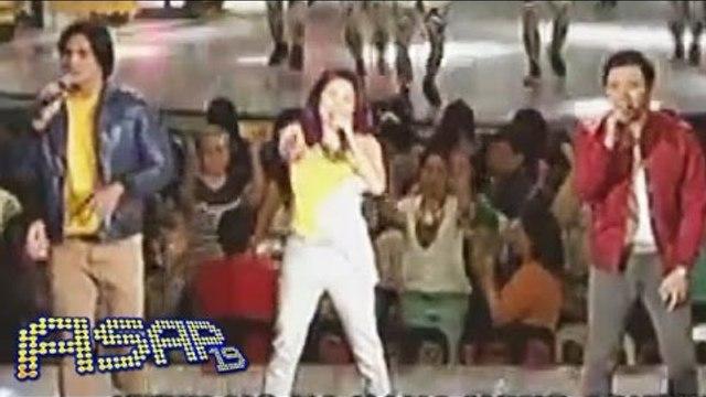 Yeng, Piolo & Erik sing 'Mga Kababayan Ko' on ASAP