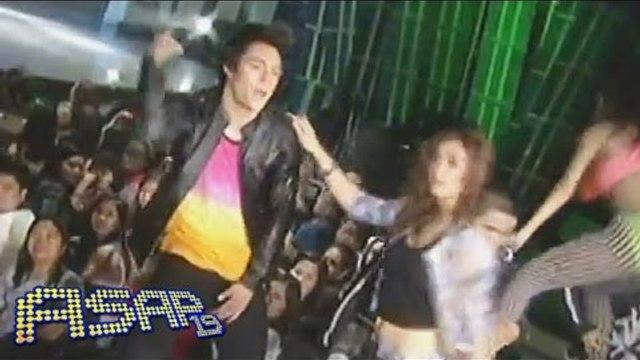 Maja & Enrique perform 'Pound The Alarm' on ASAP