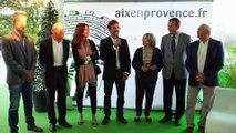 Madame le Maire d'Aix en Provence fière de soutenir l'Open du Pays d'Aix