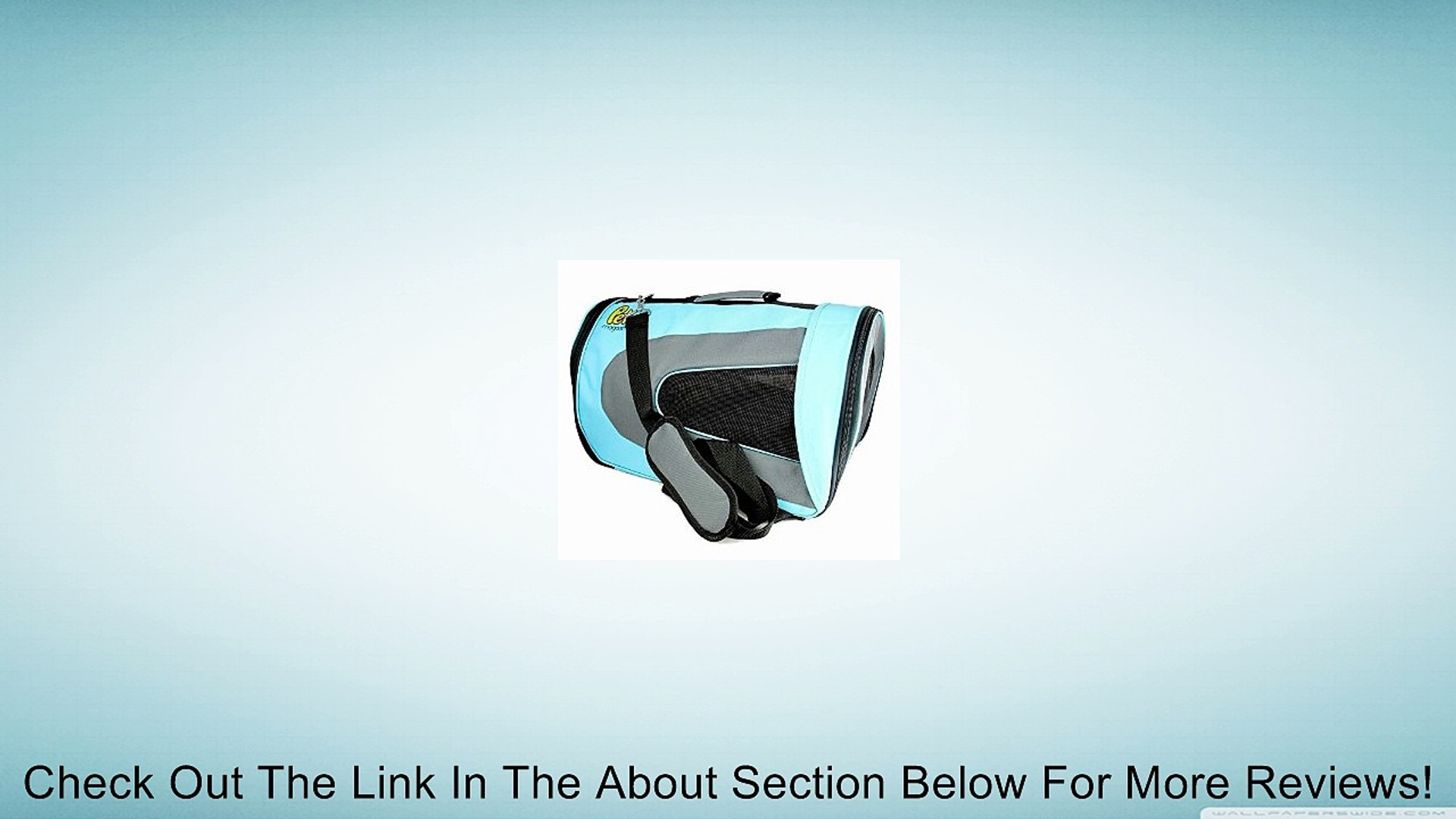 Soft Sided Pet Travel Carrier - [45% Discount for Mother's Day Sales!] - Pet Travel Portable Ba