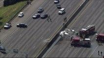 4 morts dans le crash d'un avion sur une autoroute aux États-Unis