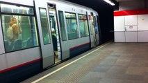 RET Metro Type SG2/1 Vertrek Beurs Rotterdam Richting Schiedam Centrum Lijn A