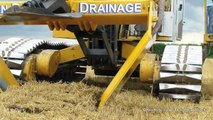 Inter-Drain GP-Series V plow | laying trenchless field drainage | Van Damme Drainage