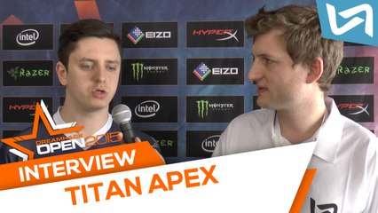 Interview apEX (Dreamhack Tours 2015)