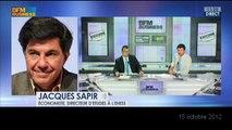 Jacques SAPIR, 15 octobre 2012, une bulle de 1000 Md$ des prêts étudiants va éclater