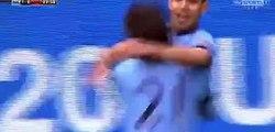 Sergio Agüero Goal 1-0 - Manchester City vs QPR 10.05.2015