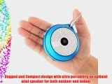 Merit Shok Mini Wireless Portable Bluetooth Speaker w/ Mic for Call 10hours Playtime Work w/