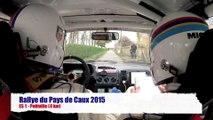 Rallye du Pays de Caux 2015 - ES1 Petitville - Raimbault/Thirouin