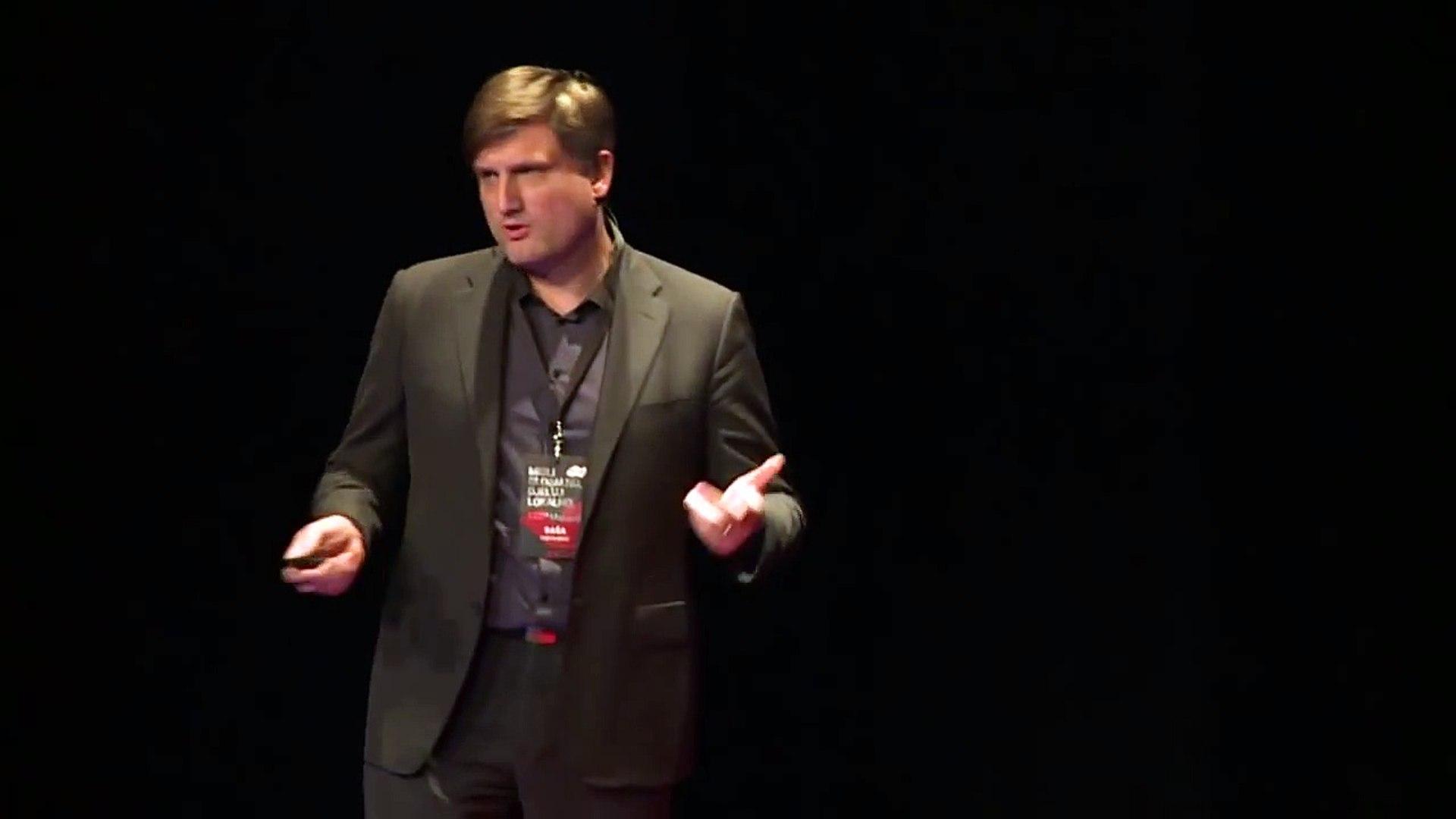 Od apsurdistana do startupistana: Saša Cvetojević at TEDxMaksimir
