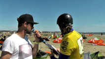 Alexandre Caizergues Defi Kite 2015 manche 1