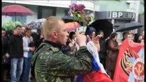 Los prorrusos celebran en Donetsk el Día de la Victoria