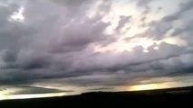 UFO Files - Huge Light beams in Brazil, December 2012