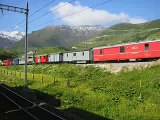 Suiza, trenes y montañas / Switzerland, trains and mountains
