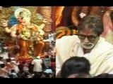 Amitabh VISITS Lal Bagh Ka Raja ,Performs Aarti With Shankar Mahadevan