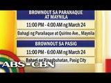 Power blackouts hit Metro Manila