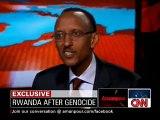 """Extrait """"Congo"""" - CNN : Christiane Amanpour Interview Paul Kagame 19 march 2010 (English)"""