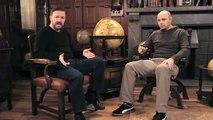 Learn English with Ricky Gervais in Latvian (Mācies angļu valodu kopā ar Ricky Gervais)