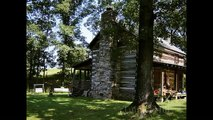 Tunnel Hill, GA - Pre-Civil-War 150-yr.-old LOG CABIN on 63 acres for Auction